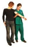 patiente d'infirmière Photos libres de droits