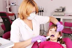 Patiente de petite fille Photographie stock libre de droits