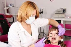 Patiente de petite fille Photos libres de droits