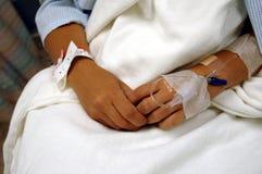 Patienten-Hände Lizenzfreie Stockbilder
