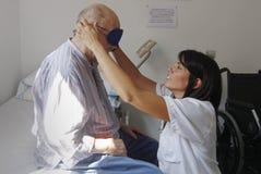 Rehabilitation of a stroke royalty free stock photography