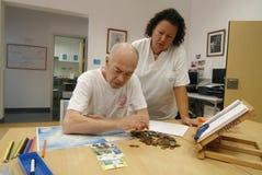 Rehabilitation of a stroke royalty free stock image
