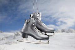 Patim de gelo imagem de stock royalty free