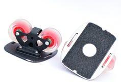 Patin de Freeline, un style de planche à roulettes Photos stock