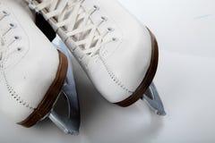 Patin de glace Photographie stock libre de droits