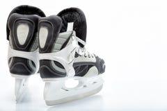 Patin de glace d'hockey Photographie stock libre de droits