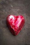 Patina heart Stock Photo