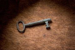 Patina key Royalty Free Stock Photos