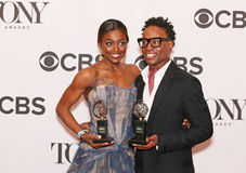 Patina Miller and Billy Porter Royalty Free Stock Photo