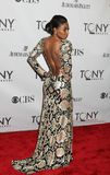 Patina Miller. Elegant actress Patina Miller makes a grand red carpet entrance for the 65th Annual Tony Awards at the Beacon Theatre in New York City on June 12 Stock Images