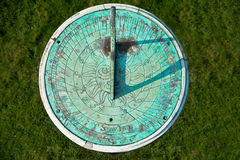Free Patina Weathered Sundial Stock Image - 20852211