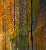 Patina Wood. Image closeup of Antique wood with aged patina background Stock Photos