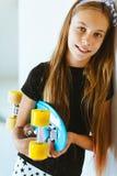 Patinador adolescente Fotografía de archivo libre de regalías