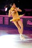 Patinador de hielo Valentina Marchei Foto de archivo libre de regalías