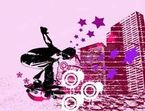 Patinador urbano Imagen de archivo libre de regalías
