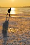 Patinage de glace Photographie stock