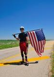 Patinagem através de América Fotografia de Stock Royalty Free