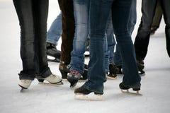Patinagem de gelo Imagens de Stock Royalty Free
