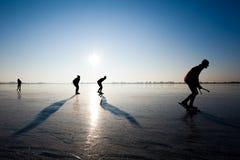 Patinagem de gelo Imagem de Stock