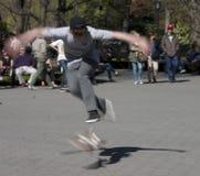 Patinagem no Central Park Imagens de Stock