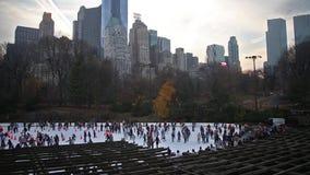 Patinagem no Central Park - New York filme