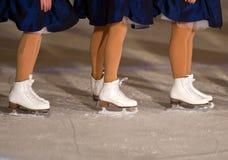 Patinagem no gelo Imagens de Stock