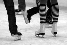 Patinagem no gelo Imagens de Stock Royalty Free