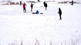 Patinagem no gelo, pista de gelo vídeos de arquivo