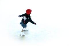 Patinaje de hielo 1 Fotos de archivo libres de regalías