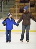 Patinaje de hielo Foto de archivo