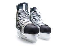 Patines del hockey del hombre. Foto de archivo libre de regalías