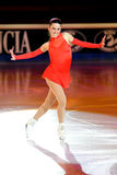 Patineur Valentina Marchei à la récompense d'or de patin Photo stock