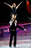 Patineurs de glace Tatiana Totmianina et maxime Marinin Photo stock