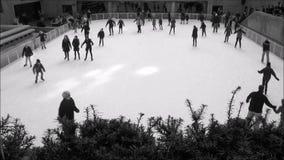 Patinoire au centre de Rockefeller clips vidéos
