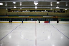 Patinoire d'hockey Photo stock