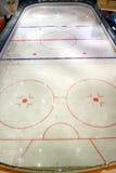 Patinoire d'hockey Photo libre de droits