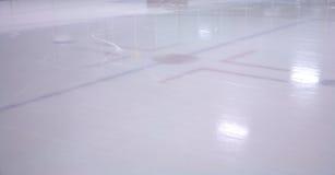 Patinoire d'hockey Image libre de droits