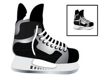 Patins d'hockey Photographie stock
