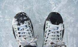 Patins de gelo Imagens de Stock