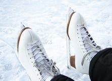 Patins de glace Images stock