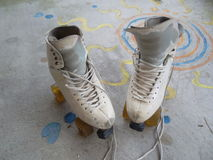 Patins de rolo Art Skates Dance Skates Fotos de Stock