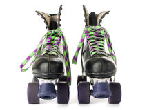 Patins de rolo retros foto de stock royalty free