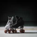 Patins de rouleau Photo stock