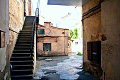 Patio à Odessa Image libre de droits