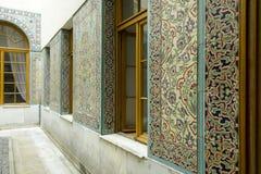 Patio árabe del palacio de Livadia, Crimea Foto de archivo libre de regalías