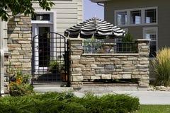patio εισόδων Στοκ Εικόνα