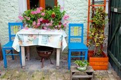 patio σπιτιών περιοχής Στοκ Εικόνες