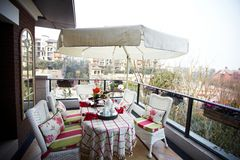 patio σπιτιών Στοκ Εικόνα