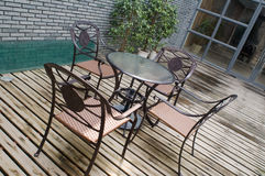 patio σπιτιών Στοκ εικόνες με δικαίωμα ελεύθερης χρήσης