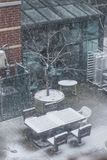 patio Fotografie Stock